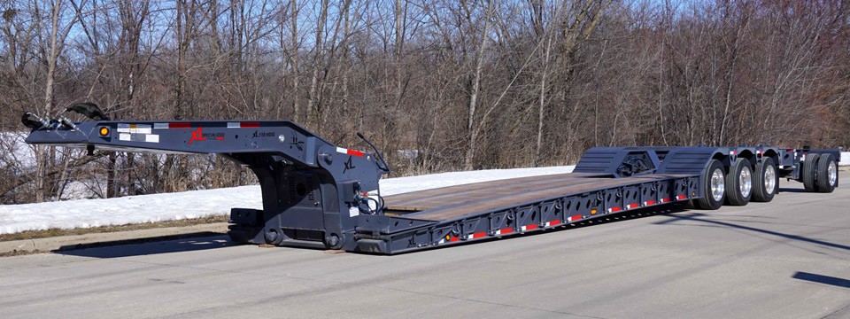 XL Specialized Trailers - XL 110 Low-Profile HDG - Paver Style