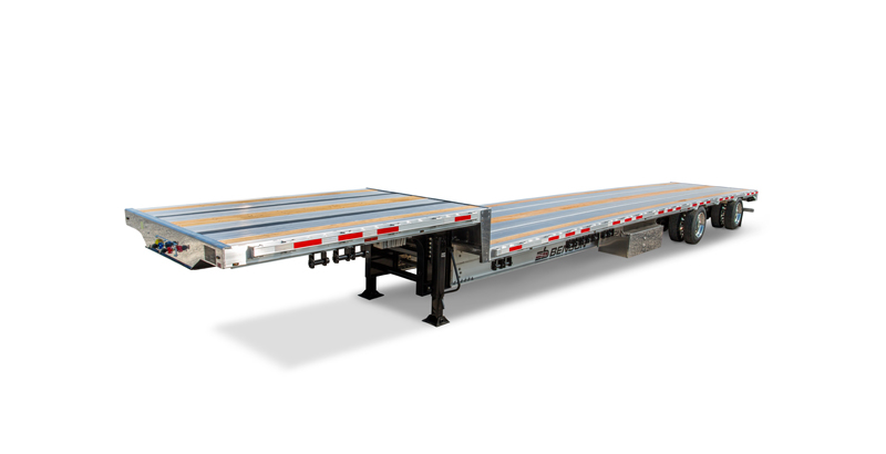 Benson Aluminum Drop Deck Trailer
