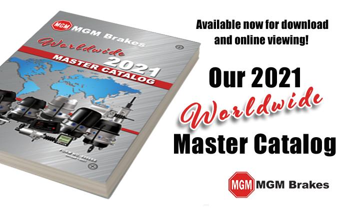 MGM Brakes 2021 Master Catalog