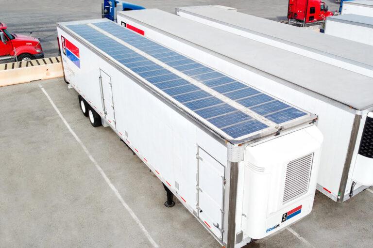 PLM Zero Emission Refrigerated Trailers