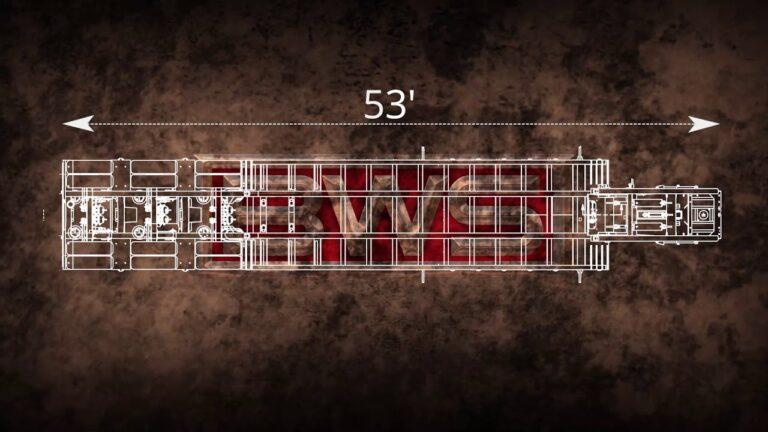 BWS 55HDG3X Hydraulic Detachable Gooseneck Trailers