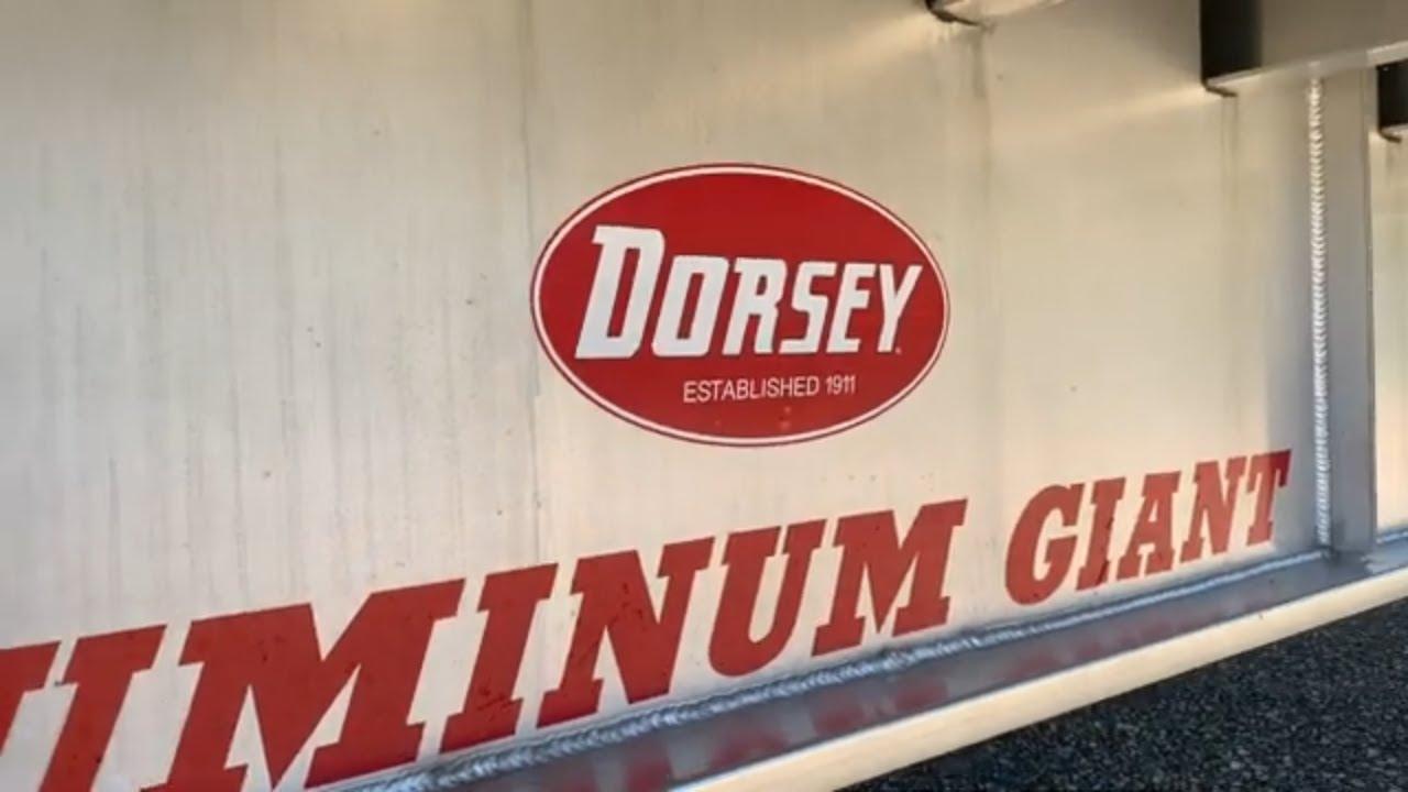 Dorsey Aluminum Drop Flat Trailer
