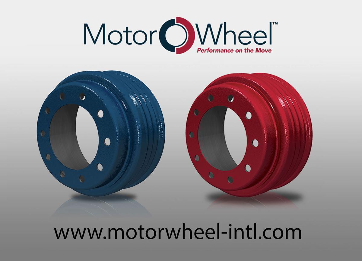 Motor Wheel CentriFuse Brake Drums Red vs Blue