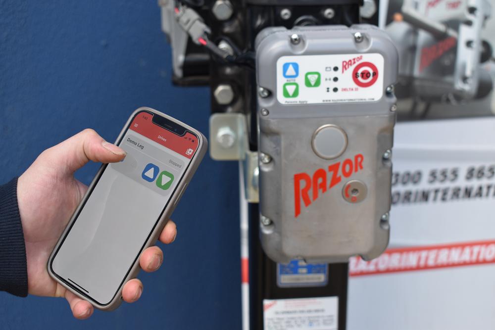Razor Drive with Bluetooth App
