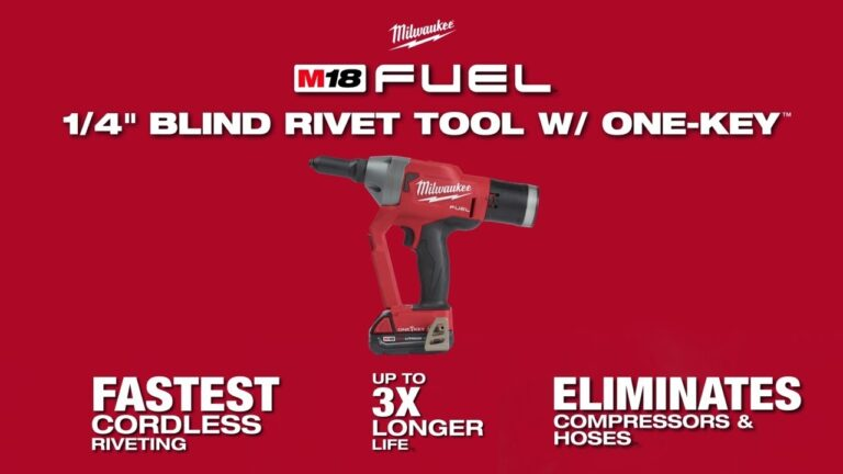 Milwaukee Delivers the Fastest Cordless Riveting Tool