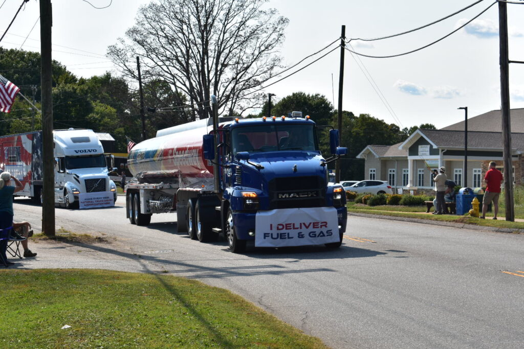 America Rolls Strong Truck Parade - Fuel and Gas