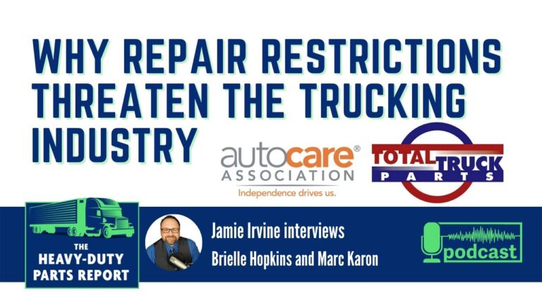 Right to Repair Impact on Trucking Industry