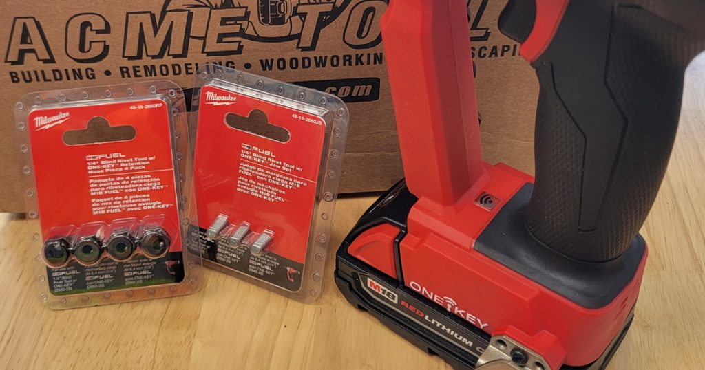 Milwaukee M18 FUEL Blind Rivet Tool Replacement Parts
