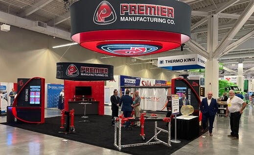 Premier Manufacturing Trade Show Booth