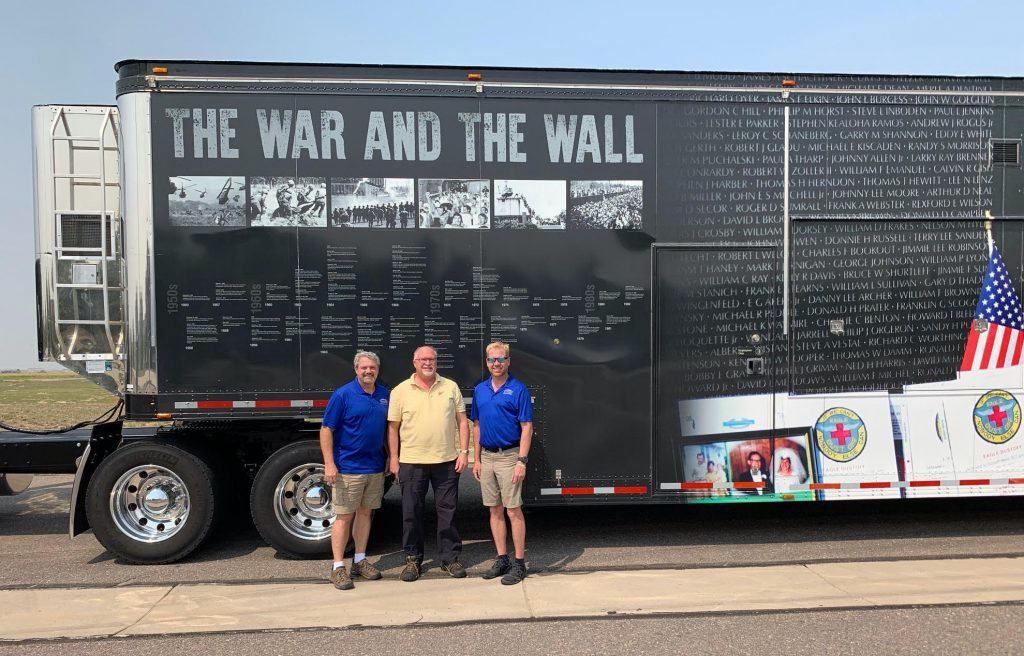 Veterans Memorial Trailer Receives Razor Drive Electric Landing Gear