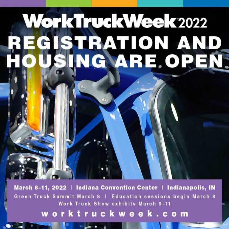 Work Truck 2022 Registration