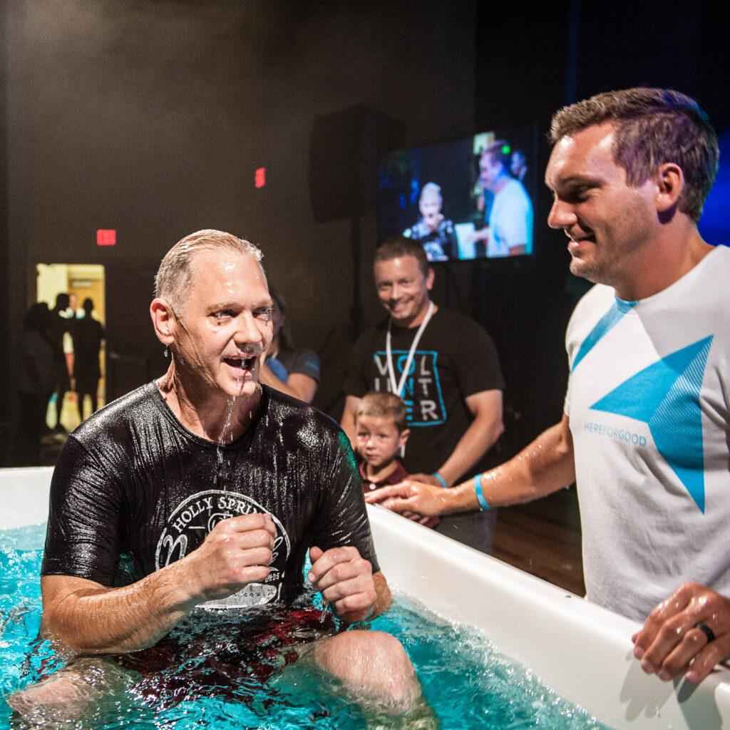 Baptism At Church in Holly Springs
