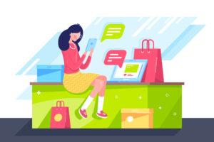 iLoyal Franchise SMS Marketing Customer on Mobile Phone