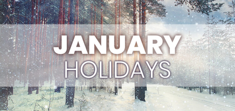 January Holidays to Integrate into Your Marketing