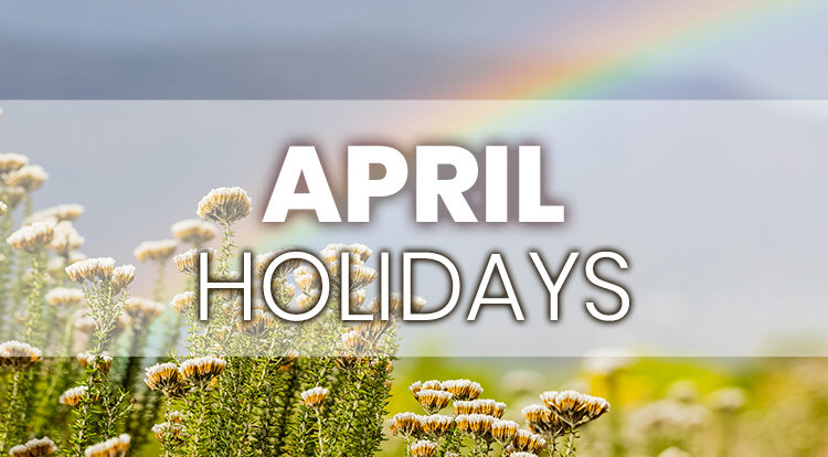iLoyal Marketing April Holidays for Email Social