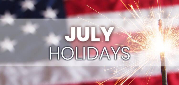 July Holidays to Integrate into Your Marketing