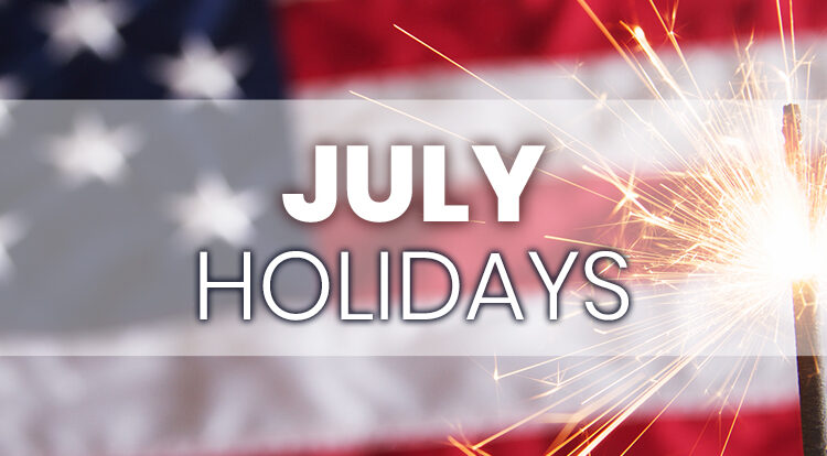 iLoyal Marketing July Holidays for Email Social