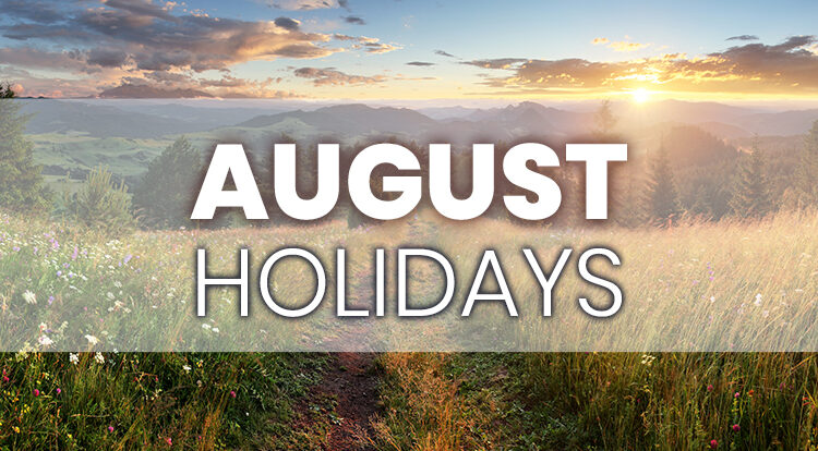 iLoyal Marketing August Holidays for Email Social