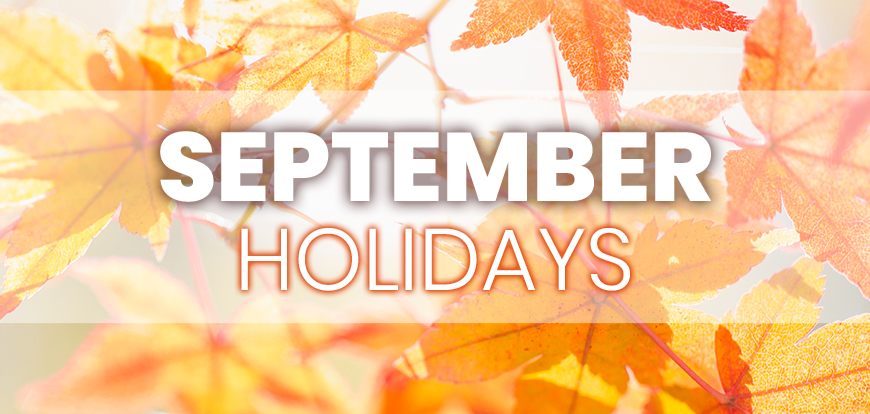September Holidays to Integrate into Your Marketing