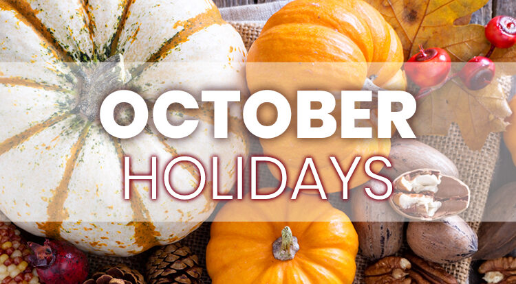 iLoyal Marketing October Holidays for Email Social