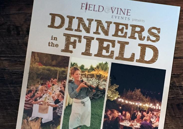 Dinner in the fields