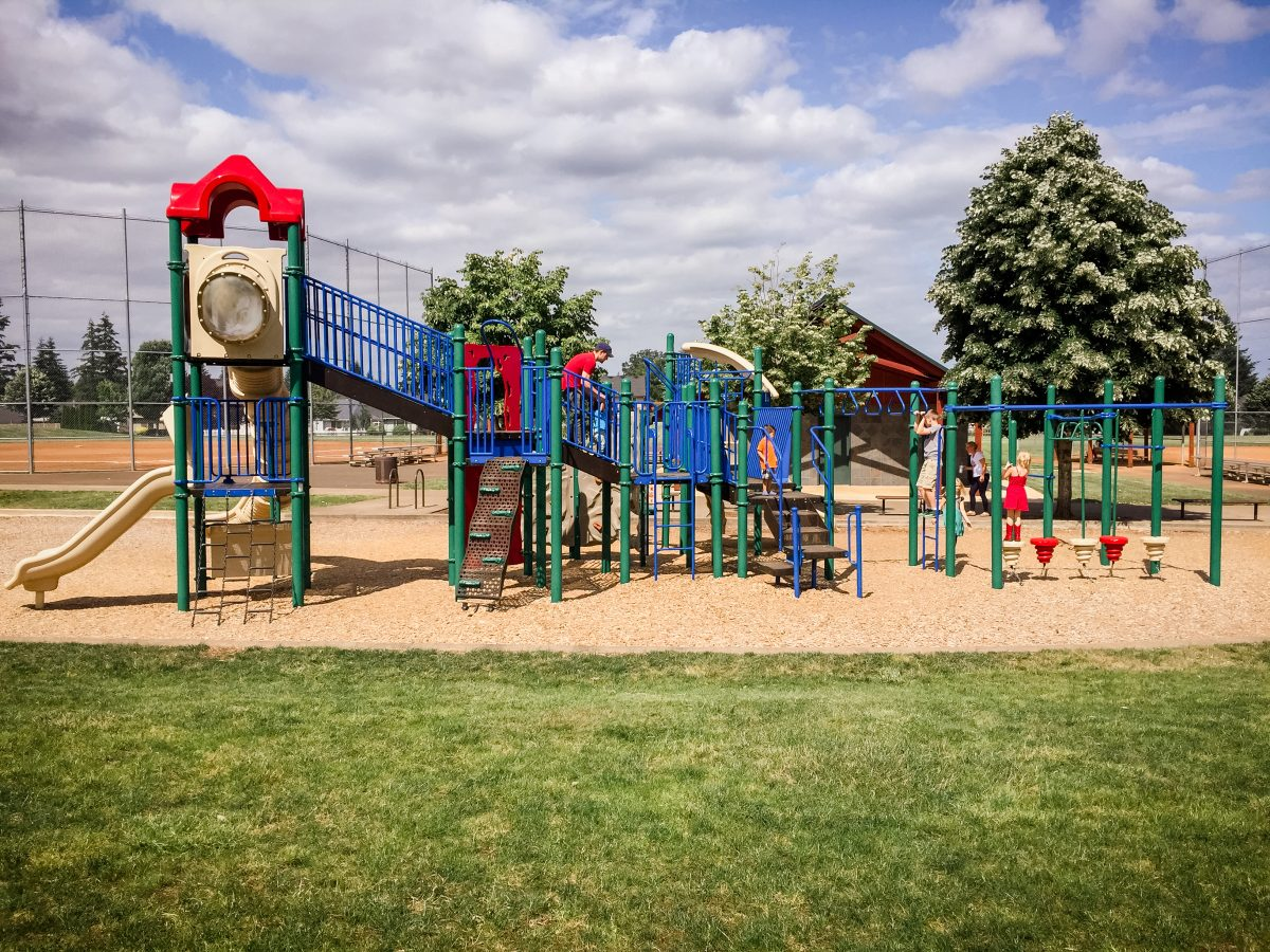 Wesley Lynn Park in Oregon City