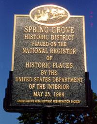 Spring Grove Pa History