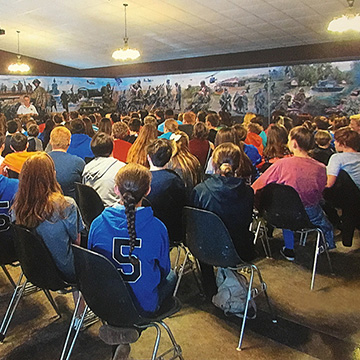 Seated studentsChildren