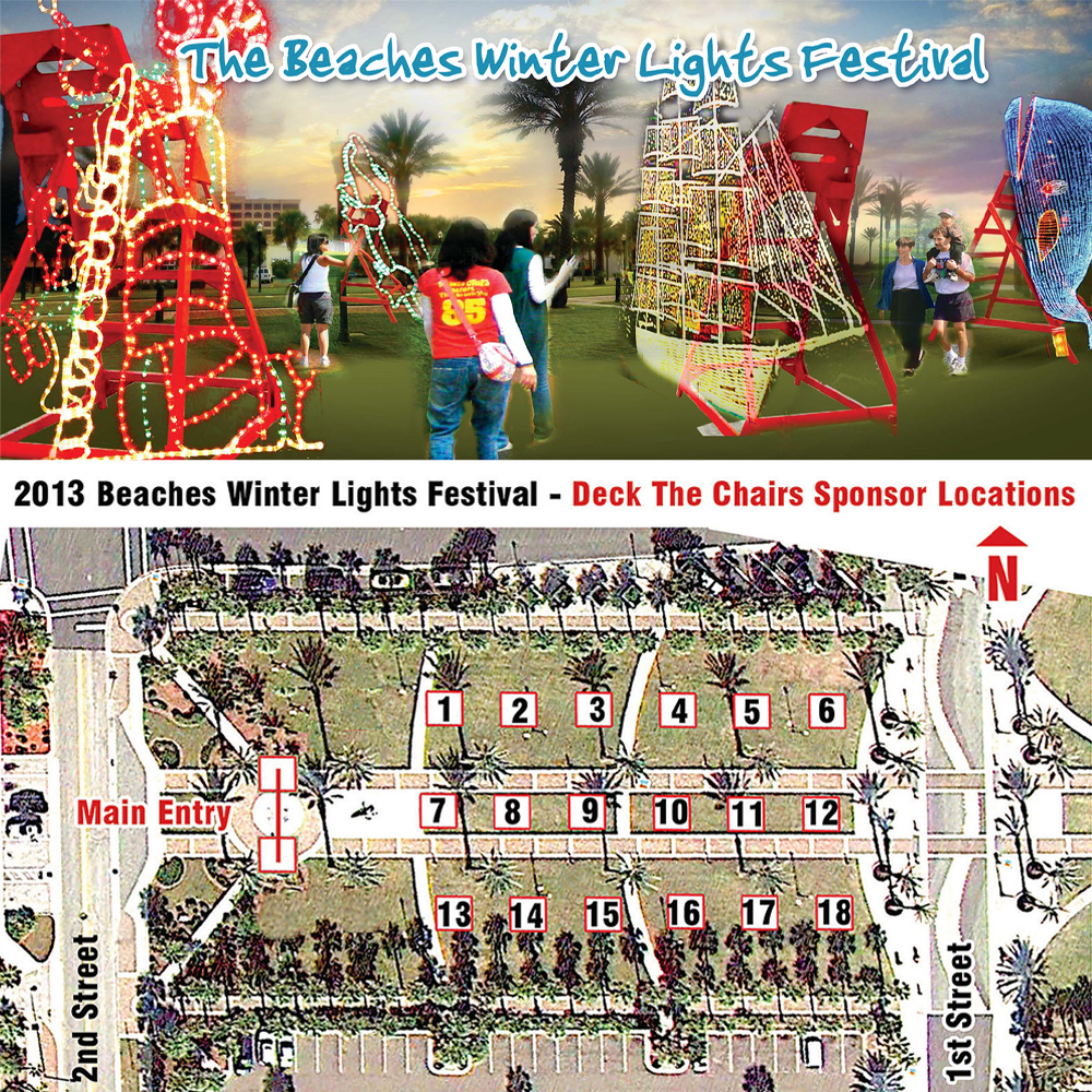 2013 Deck The Chairs^Preliminary Exhibit Space Layout