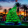 2015 Deck The Chairs^Whimsical Tree with Ornaments