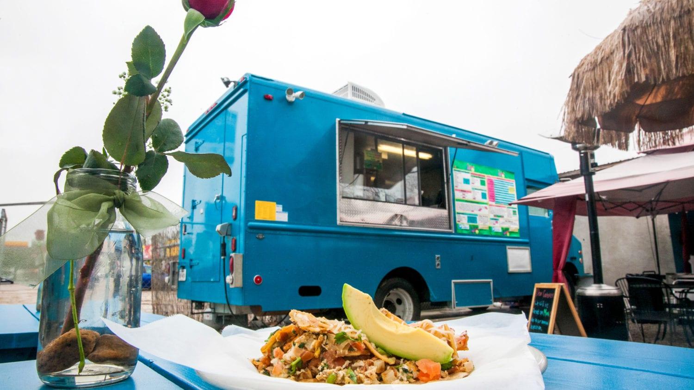 Austin Famous Food Trucks at the Finish Line Festival for Austin Marathon Half Marathon and 5K for Post Race Food