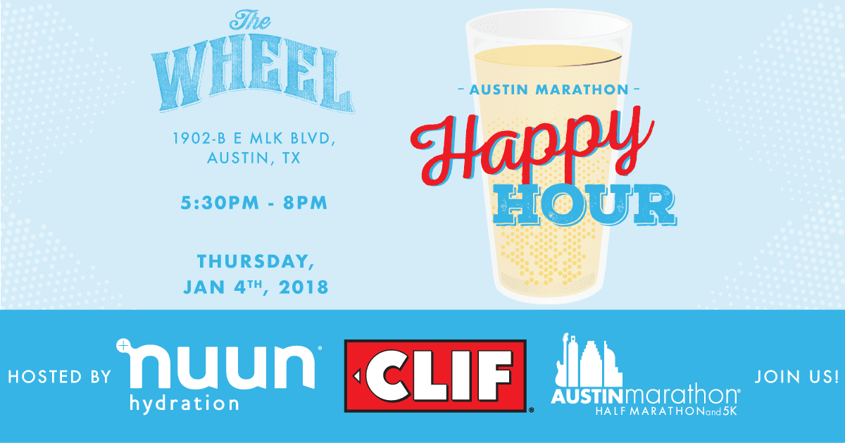 Austin Marathon Happy Hour