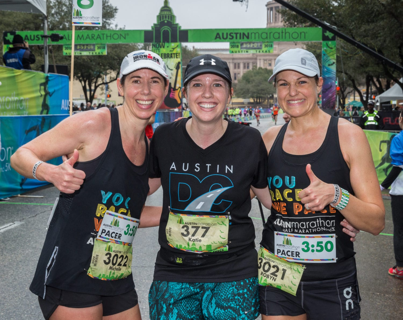 professional pacers: perks of the 2019 Austin Marathon
