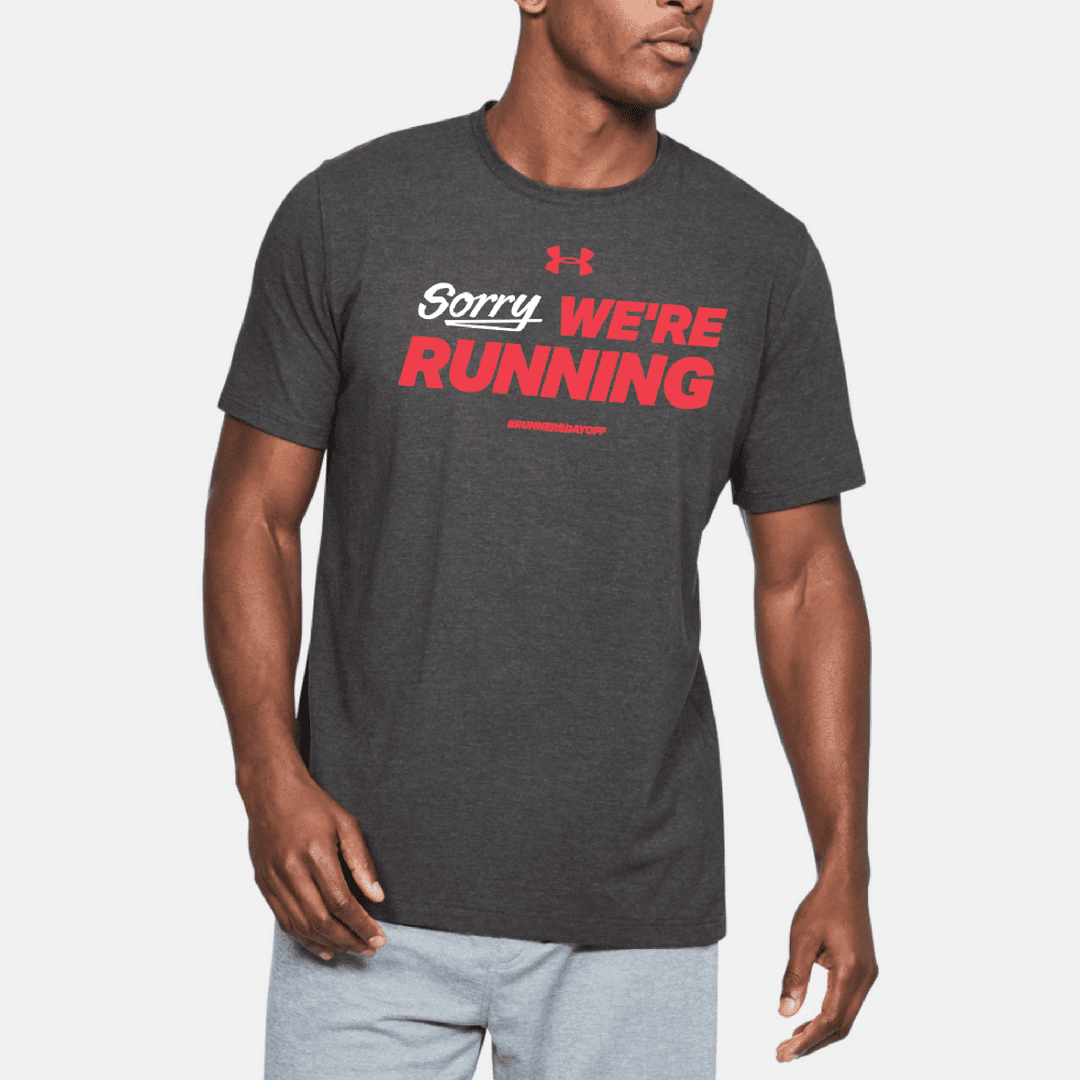 Global Running Day shirt provided by Under Armour Running