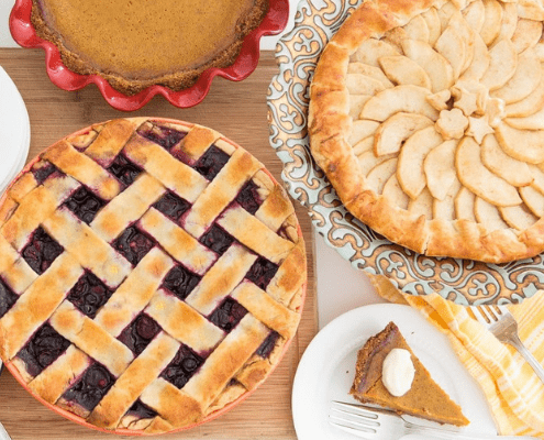 Most will say pies are their favorite Thanksgiving foods.