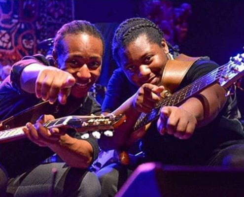 The Peterson Brothers headlined the 2018 Austin Marathon and Six Square's 2019 Blues Music Showcase, an East Austin highlight.