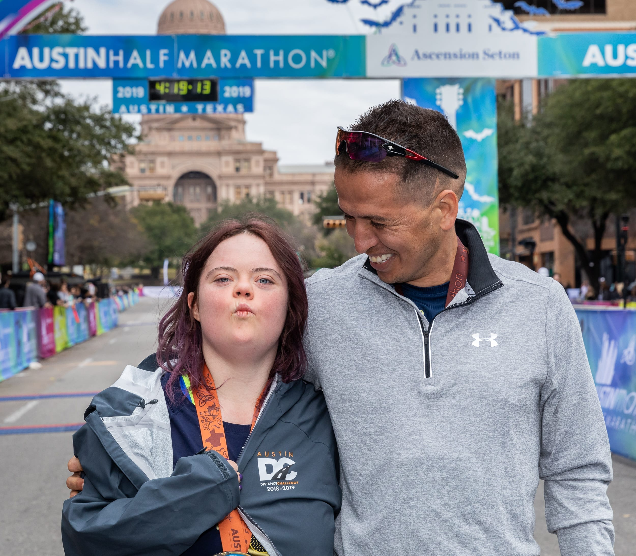 Kayleigh Williamson, the first runner with Down syndrome to cross the Austin Half Marathon finish line, is putting her mark on the world through running.