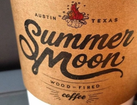 Image of Summer Moon coffee. Summer Moon made the list of our 6 favorite south Austin coffee shops.