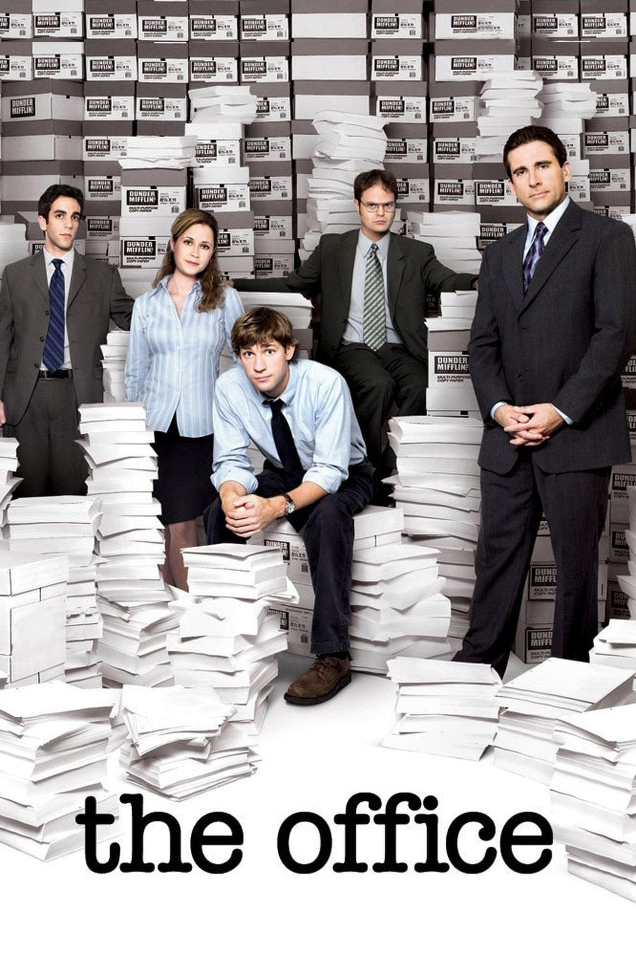 Image of The Office promotional material. The Office is on the High Five Events binge-worthy show recommendation list.