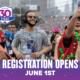 Image of runner during the 2020 Austin Marathon. Registration for the 30th annual Ascension Seton Austin Marathon opens on June 1, 2020.