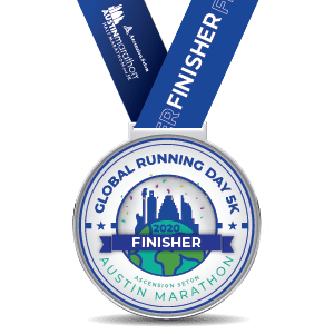 Virtual Race Medal - Global Running day Virtual 5K