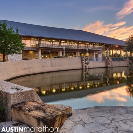 Transportation to the Austin Marathon Expo is at the Palmer Event Center in Downtown Austin,Texas