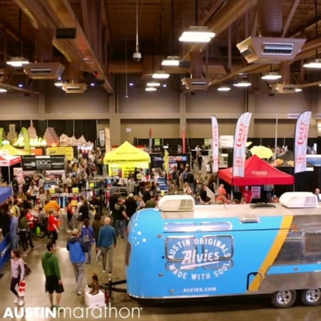 Parking and Attending the Austin Marathon Health & Fitness Expo