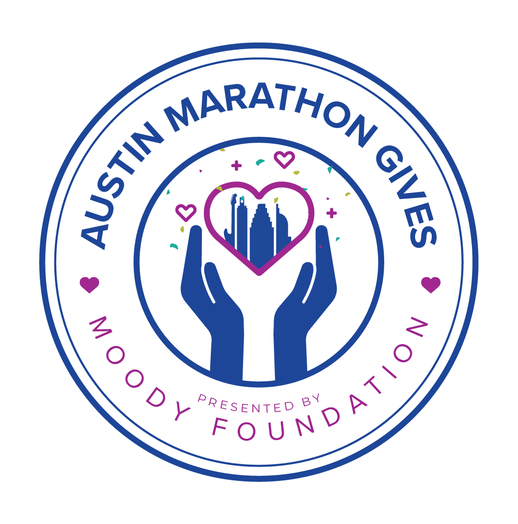 Austin Marathon Gives Presented By Moody Foundation Full Color Logo presentedbythemoodyfoundation