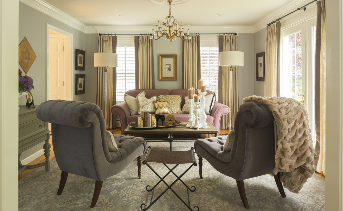 Hartley and Hill Living Room design makeover