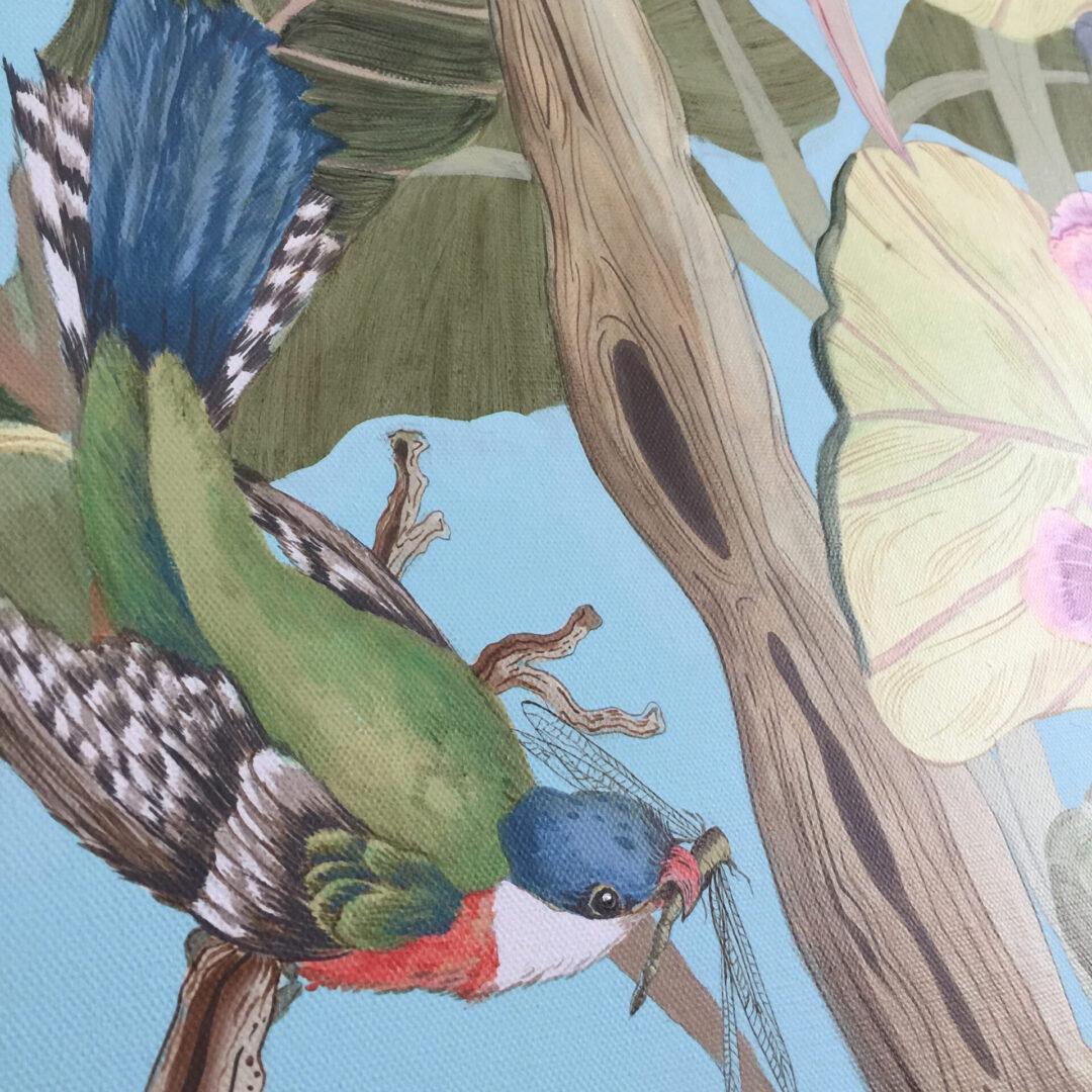 chinoiserie-bird-cuban-trogan