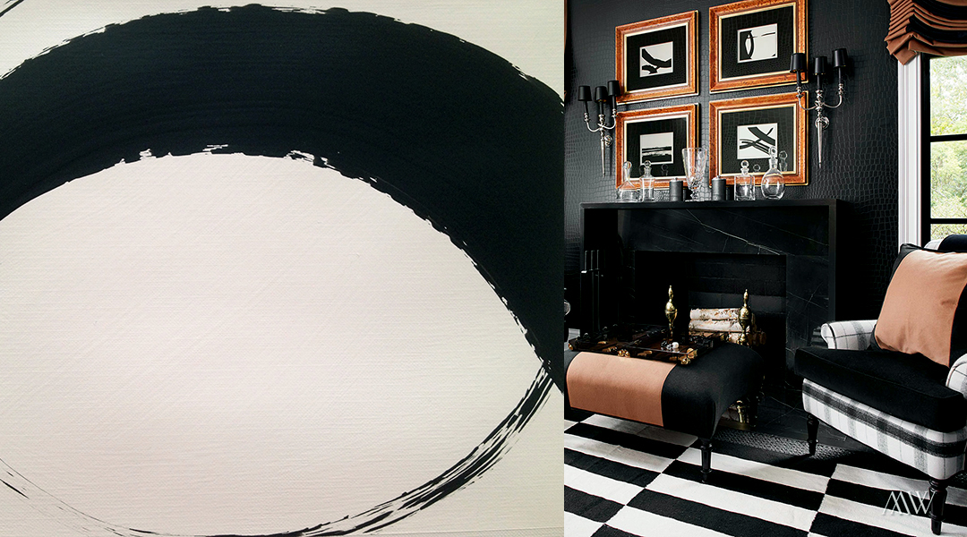 Black-and-White-Abstract-paintings-custom-commission-for-Megan-Winters-by-Allison-Cosmos