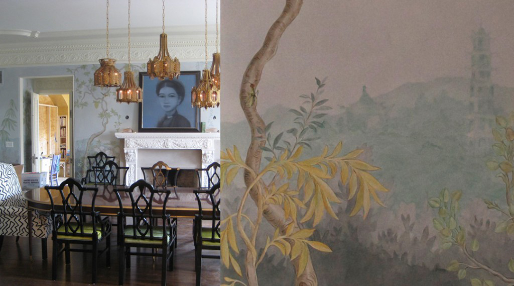 Chinoiserie-mural-custom-size-commission-by-Allison-Cosmos