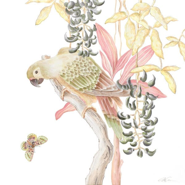 jungle-parrot-chinoiserie-birds-by-Allison-Cosmos