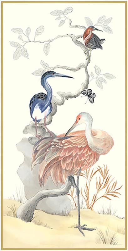 sandhill-crane-chinoiserie-coastal-art-by-allison-cosmos